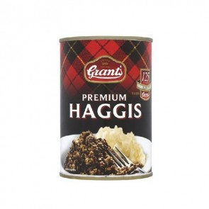 Grants Haggis 392g tin - Serves 2