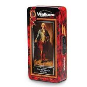Walkers Shortbread Fingers:Bonnie Prince Charlie 340g tin
